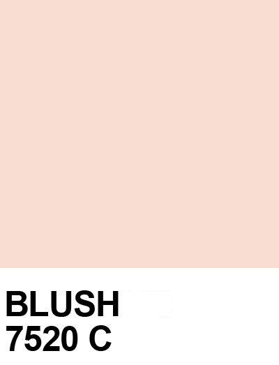 Pantone Blush - light pink color