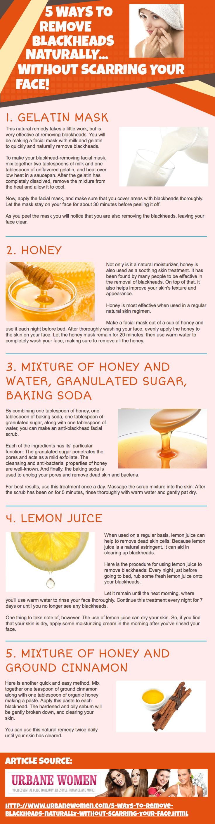 5 Natural face masks