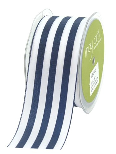 Navy and White Striped Ribbon for Unique Wedding Centerpieces by Object:Splendor, DIY Centerpieces, Wedding and Event Centerpieces, DIY Rustic Centerpieces, DIY Modern Centerpieces, DIY Nautical Centerpieces, Unique Nautical Centerpieces, Unique Rust