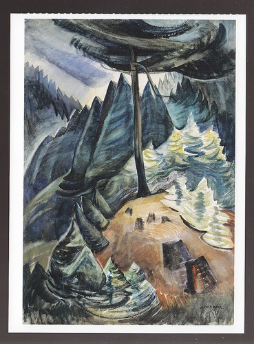 Pines in May by Emily Carr