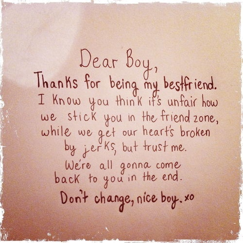 Cute Letter To Your Best Guy Friend