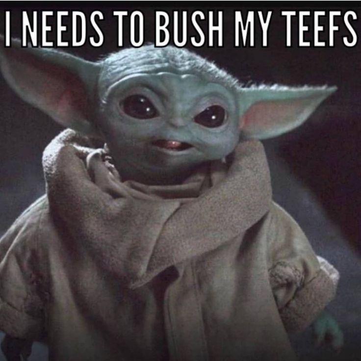 Pin By Bernie Sitzmann On Baby Yoda Yoda Meme Funny Babies Yoda