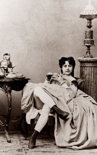 Victorian-Era prostitute- a reminder why i need to keeo my skirt down at work at the farm