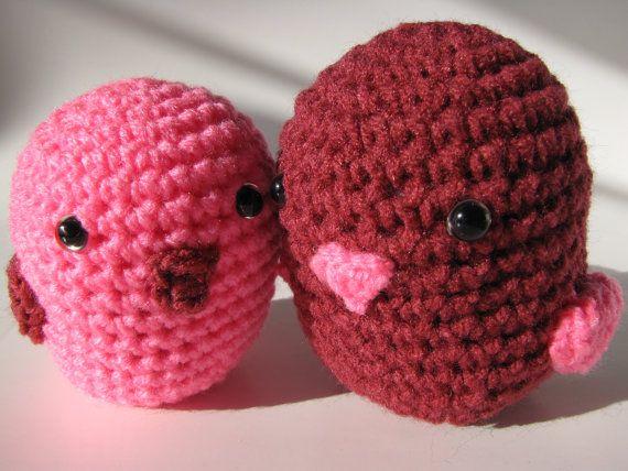 Crochet Amigurumi Lovebirds Craftbnb