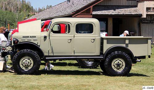 DODGE POWER WAGON 1947 Crew Cab 4x4