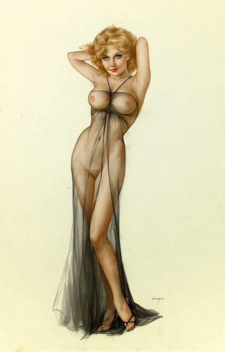Alberto art erotic vargas