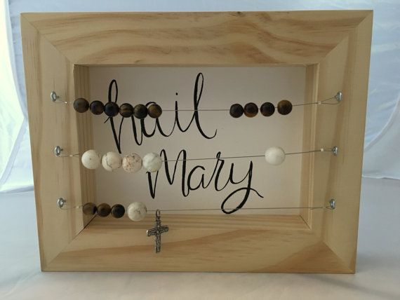 Kitchen rosary, abacus style