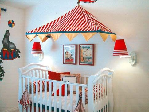 121 best images about circus themed rooms decor for kids for Circus themed bedroom ideas
