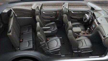 2017 Chevrolet Traverse - interior 1