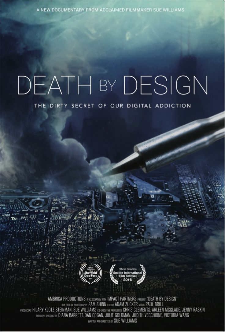 Poster design documentary - Death By Design
