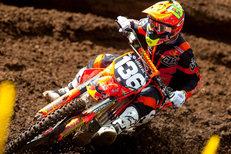 Washougal MX 2012: Practice Report | Features, Motocross, News, Photos | Transworld Motocross. Troy Lee bikes, Stunning colors! Jessy Nelson charging!