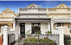 victorian australian - Don't want the exterior wall to look white like this! White wall doesn't go with the dark metal