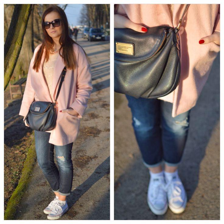 #cozy #pinkcoat
