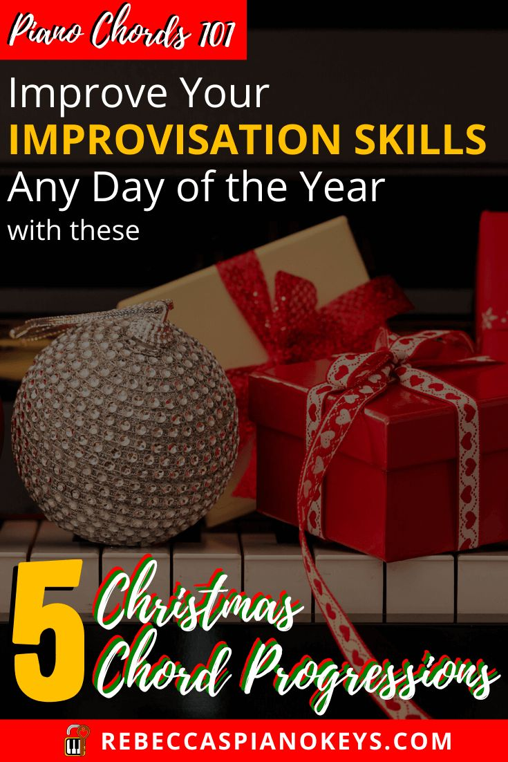 5 Christmas Chord Progressions to Improve Your Piano