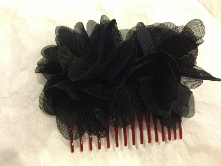 Black flowers!