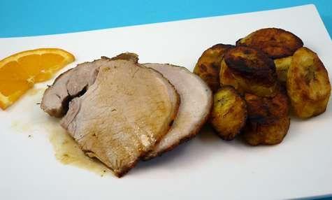Rôti de porc mojo