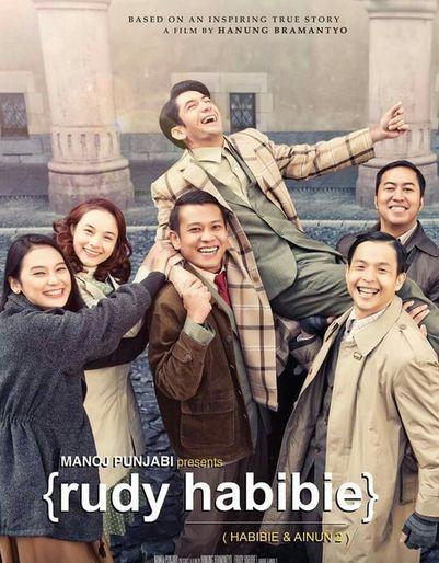 Revies, sinopsis dan Trailer Film Indonesia Terbaru 2016: Rudy Habibie (Habibie & Ainun 2)