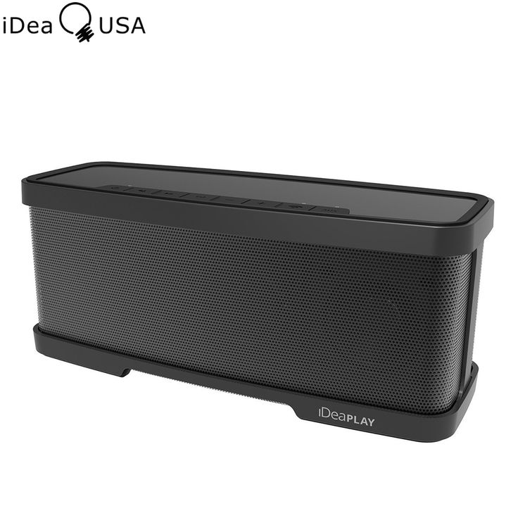 iDeaUSA W200 2.1 Channel Wireless Bluetooth Speaker with 2x5W Drivers & 1x10W Subwoofer Dual Passive Radiator & 2 Mode Equalizer