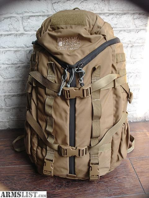 ARMSLIST - For Sale/Trade: Mystery Ranch 3 Day assault pack