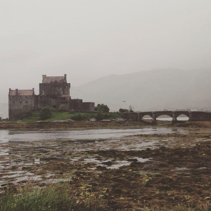 Eilean Donan castle. Scotland