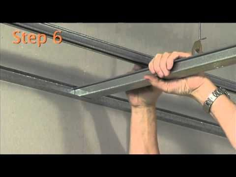 ▶ How to install and MF plasterboard ceiling - YouTube