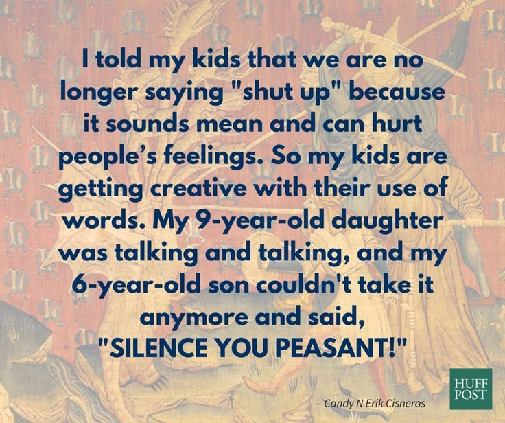 These are hilarious. Read the rest of the funny kid sayings here!