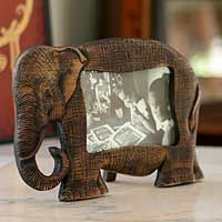 novica elephant frame - Elephant Picture Frame