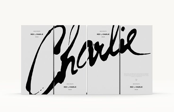 product/package design: revlon's charlie fragrance limited edition packaging proposal for relaunch | ceft and company new york