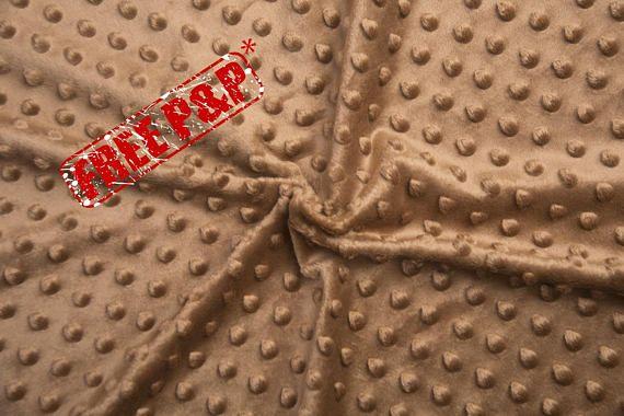 Minky plush fabric, minky dimple, coconut dot plush, kids room ... : quilting supplies wholesale - Adamdwight.com