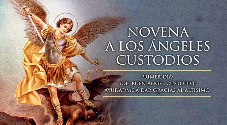 Primer Día de la Novena a los Ángeles Custodios