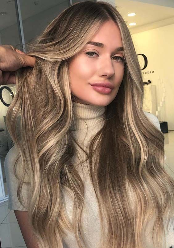 20 Gorgeous Sandy Blonde Hair Long Hairstyles in 2018