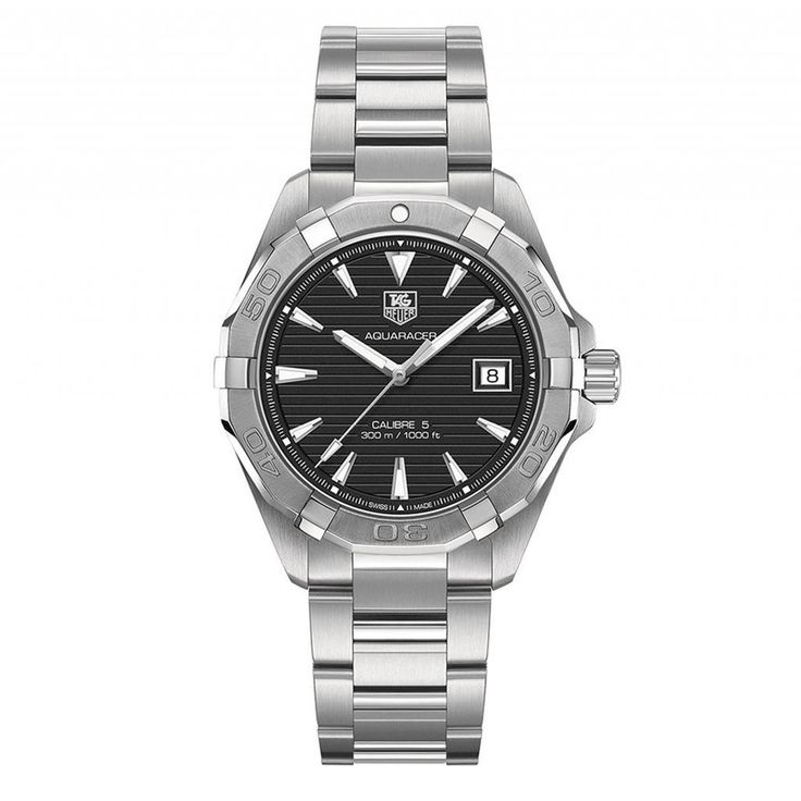 Tag Heuer Aquaracer Automatic Black Dial Steel Mens Watch WAY2110.BA0910 Canada online at SHOP.CA - THWAY2110BA0910