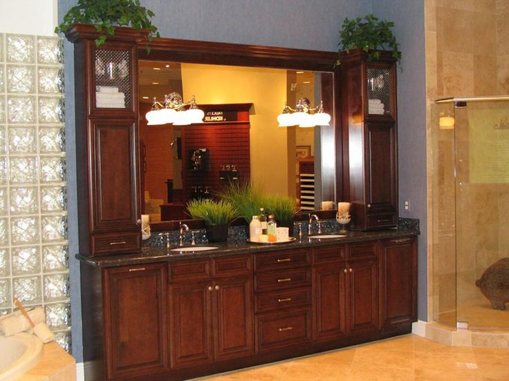 want to do to my master bath seriously need some upper cabinet space