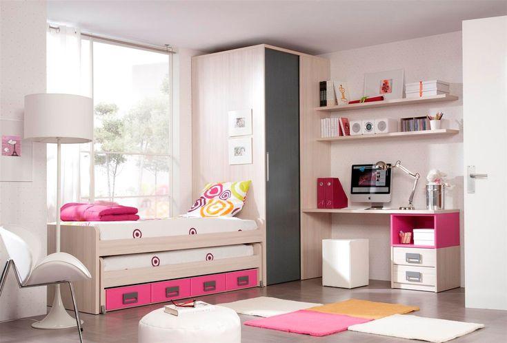 Decoracion de cuartos peque os para se oritas buscar con for Recamaras para ninas adolescentes