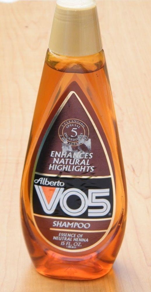 Vintage NOS 1990s Alberto VO5 Essence of Neutral Henna Shampoo 15 fl oz HTF 22400190259 | eBay