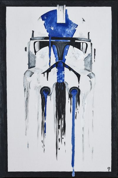 A Blue Hope 1 Art Print Star Wars Prints Star Wars