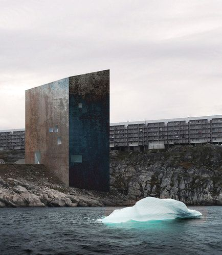 The National Gallery of Greenland by Heikkinen Komonen Architects