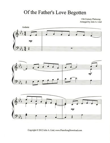 64 best Christmas Piano Sheet Music printable for all ages and ...