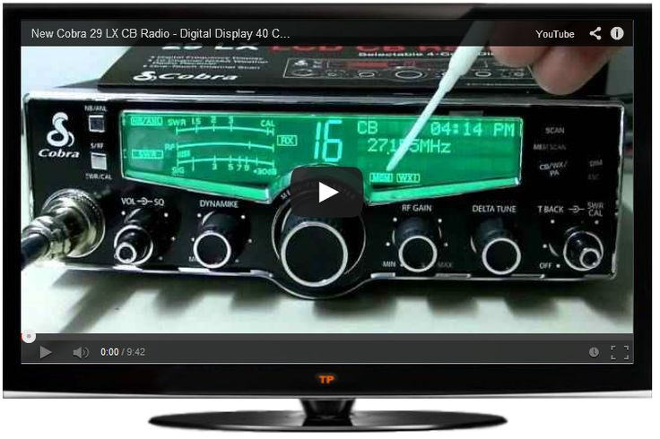 What's the best cb radio for trucking