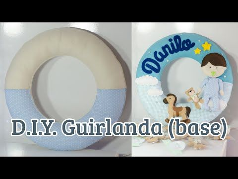 DIY Guirlanda (base) - YouTube