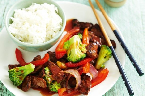 Hoisin beef stir-fry main image