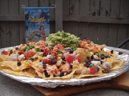 Awesome nachos from High Desert Brewing Company. Great memories :)