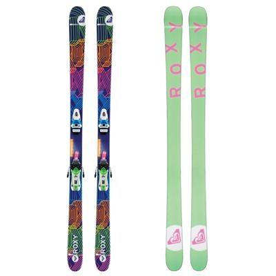 Love the green Roxy skis