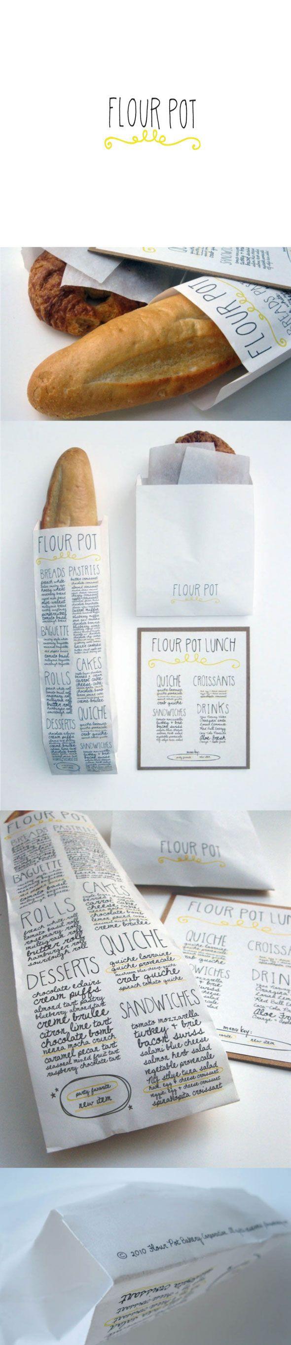 The Flour Pot Bakery  designer : Sara Nicely