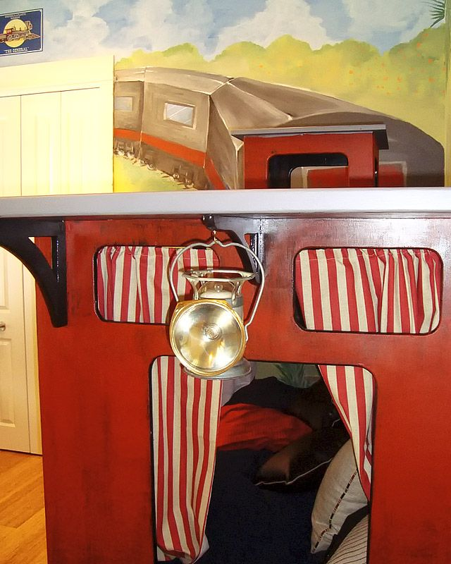 1000 Ideas About Train Bed On Pinterest Train Bedroom