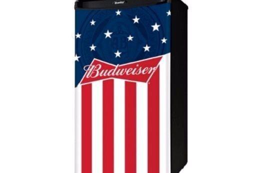 Mini Refrigerator Without Freezer Cans Bottles Holder Compact Budweiser Fridge #Danby