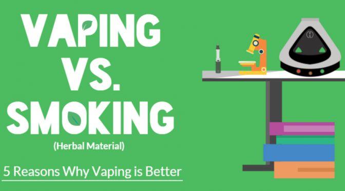 Vaping Vs. Smoking – 5 Reasons Why Vaping is Better | Spirit Science