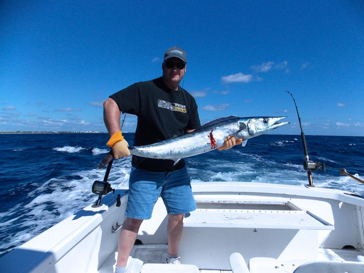 Maya Riviera, caught a Wahoo.