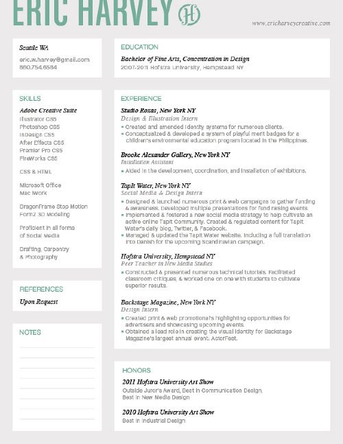 22 best images about Online Courses on Pinterest - creative resume headers
