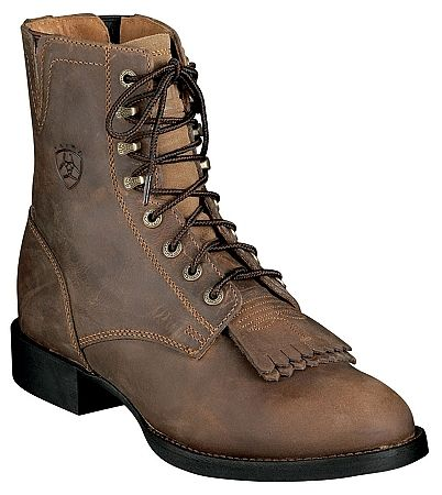Ariat Lace Up Cowgirl Boots My Style Pinterest